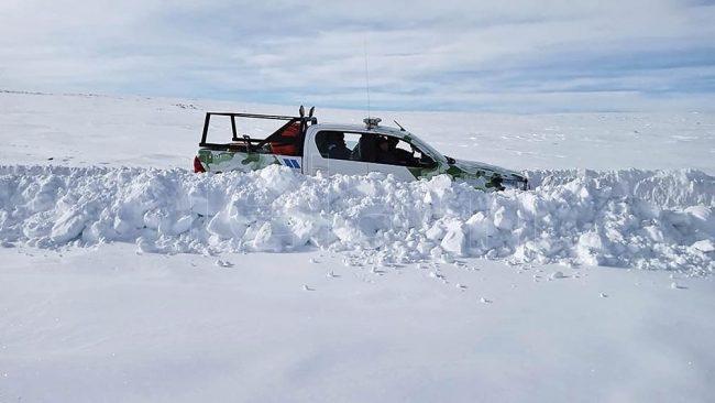 Con nevadas en el sur e incendios en el centro-norte, agosto se presenta complicado en el país