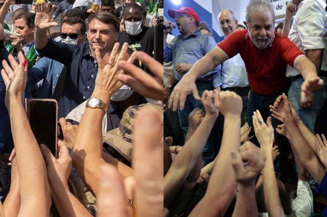 Bolsonaro se disfraza de Lula para conquistar el Nordeste