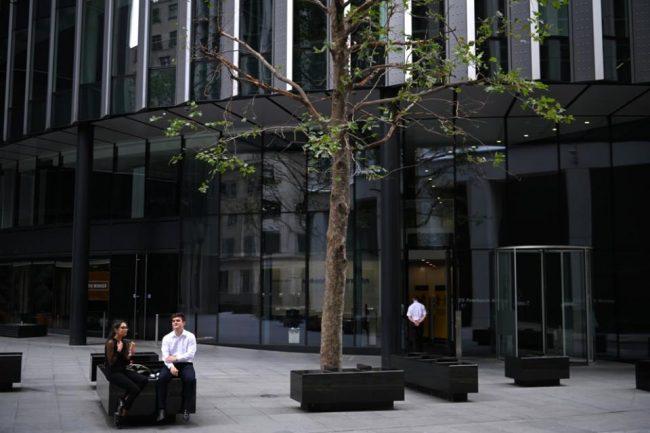 Londres: los trabajadores no quieren volver a las oficinas
