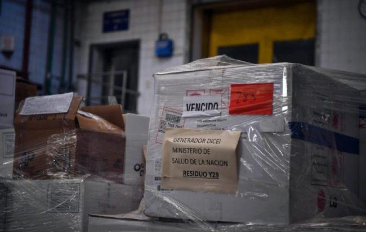 El gobierno de Macri había dejado vencer más 2 millones de vacunas