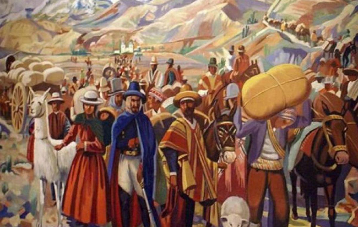 Se cumplen 208 años del Éxodo Jujeño,la primera pueblada de la historia argentina