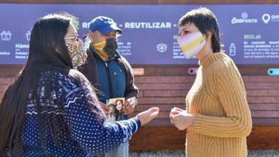 Quilmes: Mayra Mendoza, «cada vez que hablo con Máximo le pregunto por el impuesto a la riqueza»