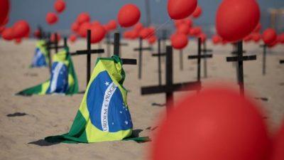 La Cruz Roja denunció que 232.993 trabajadores sanitarios de Brasil se contagiaron de coronavirus