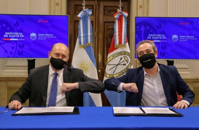 Acordaron el auxilio financiero para la municipalidad de Rosario