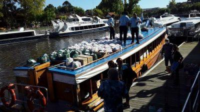 En el Tigre entregaron tres mil bolsones con alimentos
