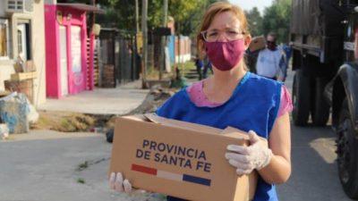 Santa Fe: La ayuda alimentaria provincial ya llega a 114 mil familias