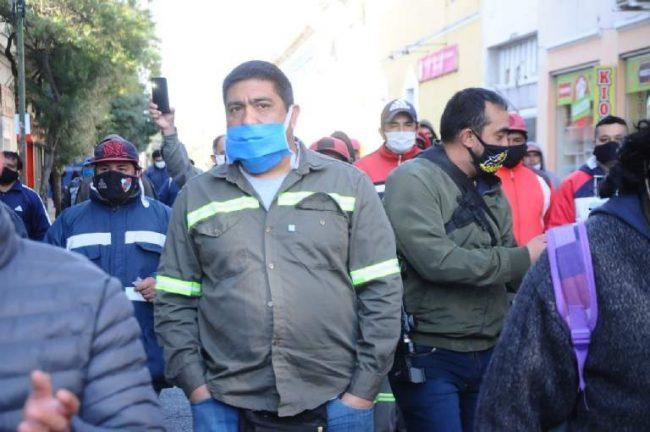 Catamarca: Trabajadores del SOEM marcharon por las calles del centro