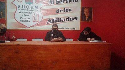 Municipales de Villa María acordaron un aumento que dejó inconforme a los jubilados