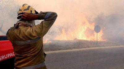Hay incendios en 11 provincias y el 95% fueron producidos por acciones humanas