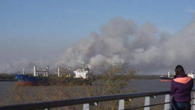 La calidad del aire en Rosario, ampliamente por debajo del límite recomendado
