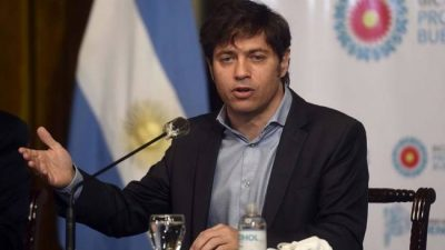 """Kicillof: """"El canje nacional nos llenó de optimismo para revertir la crisis bonaerense"""""""