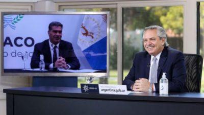 Alberto Fernández: «Queremos que cada día crezca más la relación con Brasil»