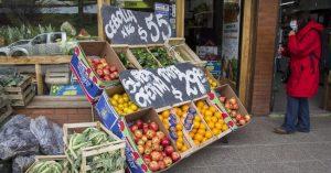 La Patagonia fue la región con mayor aumento de precios durante el último mes