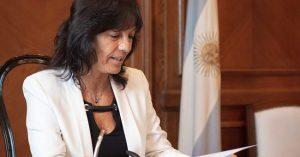 Vilma Ibarra: «No hubo quita a la Ciudad, decidimos que no se pague en exceso por el traspaso policial»