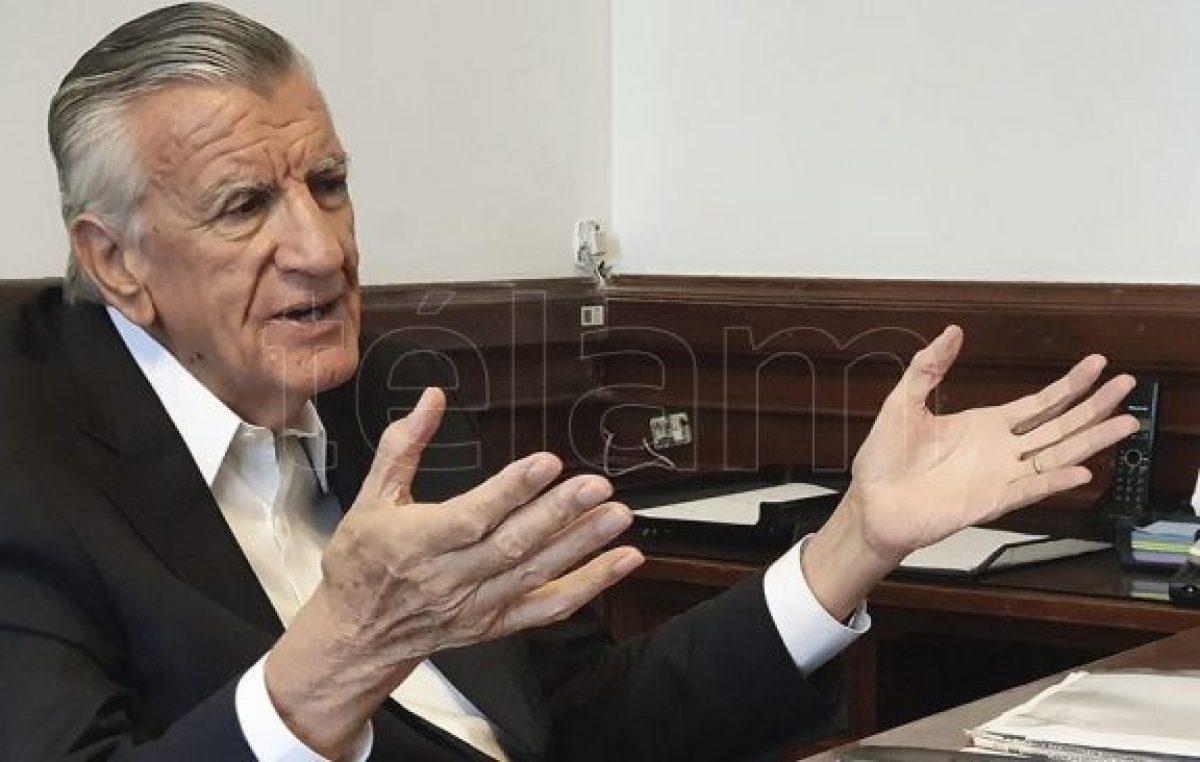Gioja: «Macri incendió el país y hoy pontifica»