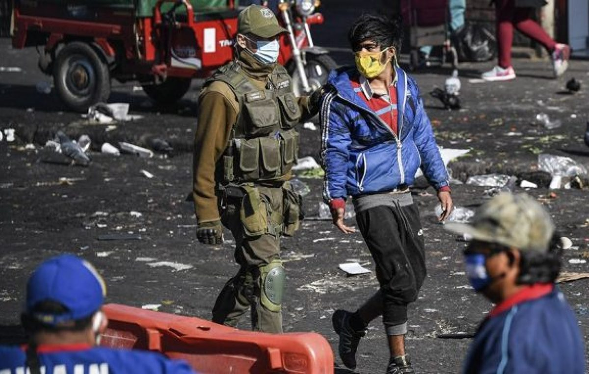 Chile registró más de 1.400 manifestaciones públicas en medio de la pandemia