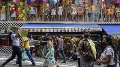 La economía del Brasil cayó 11,7% interanual en el segundo trimestre y entró en recesión