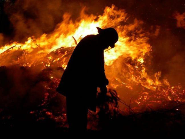 """""""Enfrentamos uno de los incendios más complicados del mundo"""", dijo el jefe del operativo"""