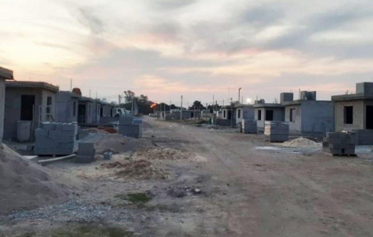 Arroyito: en noviembre estarían finalizadas 32 nuevas viviendas municipales