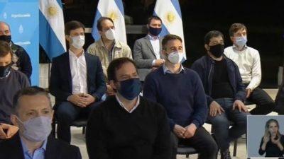 Intendentes celebraron el Fondo de Financiamiento para la provincia de Buenos Aires