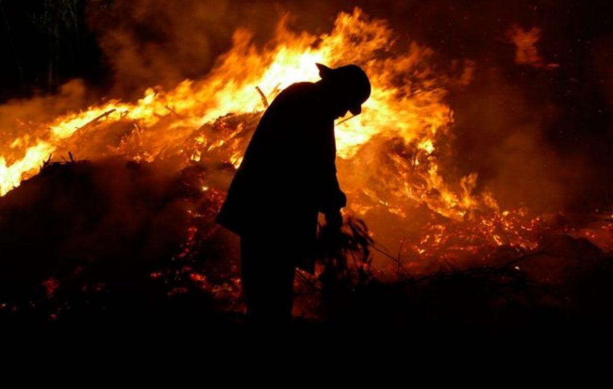 En 20 años los incendios dañaron una superficie equivalente a 12 ciudades de Córdoba