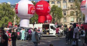 Francia: una huelga inaugura la confrontación social en pleno rebrote