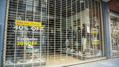 Las ventas en comercios minoristas de Córdoba cayeron 16,8% en agosto