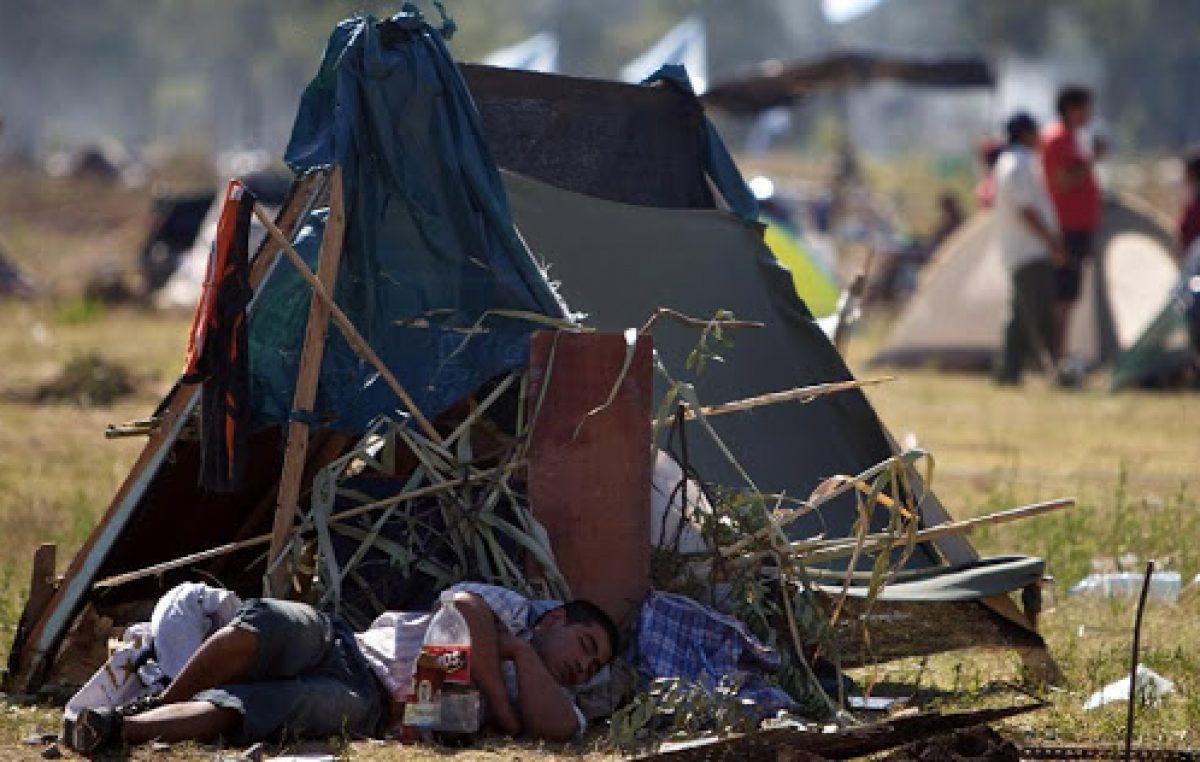 Cristina Kirchner: «La ocupación de tierra por vivienda no es una cuestión populista»