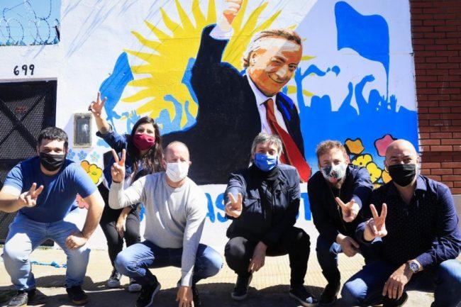 El recuerdo de Néstor Kirchner recorrió el país