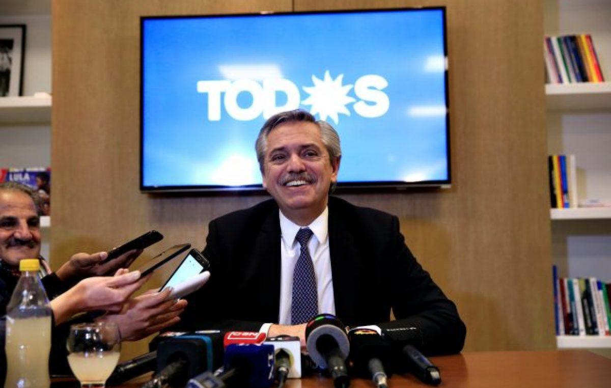 Alberto Fernández ganaría las elecciones si fuesen este domingo