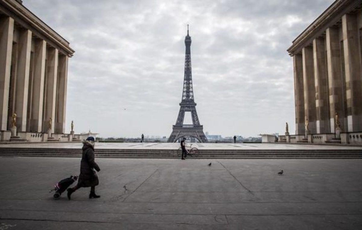 Macron decretó el toque de queda en París y en otras ciudades