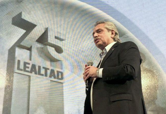 Alberto Fernández en la CGT: para el Gobierno quedó empoderado por el Frente de Todos