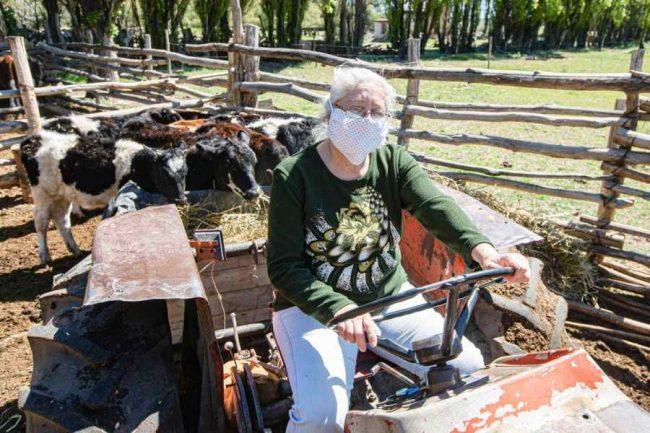 Productoras rurales de Río Negro al frente de la tierra