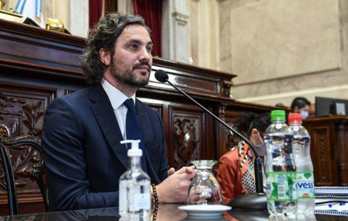 Cafiero: «Es central que se avance en el diálogo democrático entre poderes»
