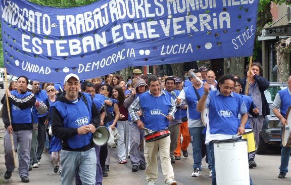 ECHEVERRÍA: MUNICIPALES SIGUEN SIN LLEGAR A UN ACUERDO Y EVALÚAN MEDIDAS DE FUERZA