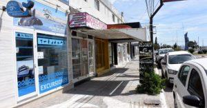Continúa cierre de comercios en la zona céntrica de Puerto Madryn