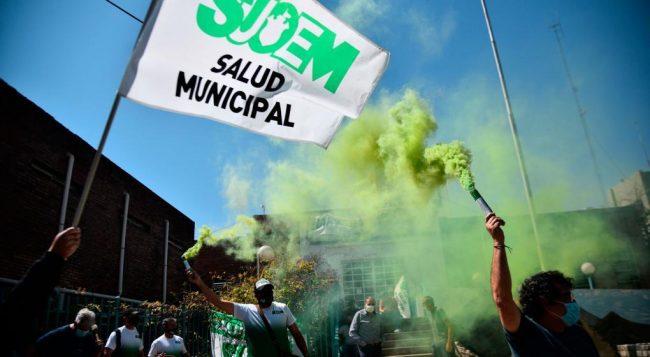 Paritarias cordobesas: Suoem inicia la semana con nueva protesta en Dirección de Atención Primaria