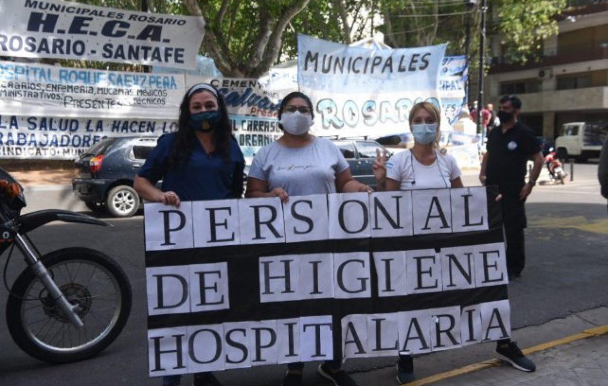 Municipales de Rosario denuncian contagios masivos en el área Salud: «Estamos colapsados»