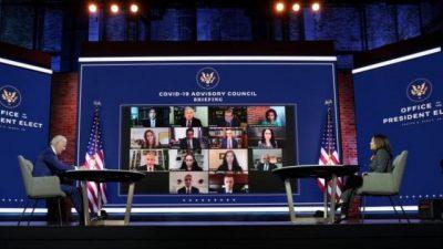 Biden designó un equipo de expertos en covid-19