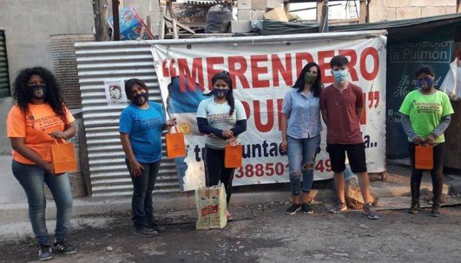 """Jujuy: Merendero """"A Pulmón"""" asiste a más de 380 niños"""
