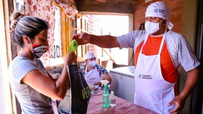 """Con """"Mi merendero seguro"""" buscan abordar a las 19 instituciones de San Juan"""