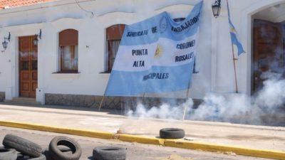 Coronel Rosales: Desde las 6 de este jueves, vuelven al paro los empleados municipales