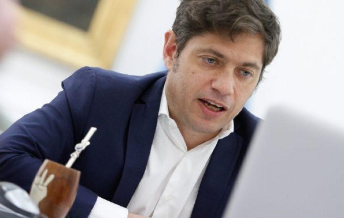 Kicillof defendió el cooperativismo y la producción agropecuaria