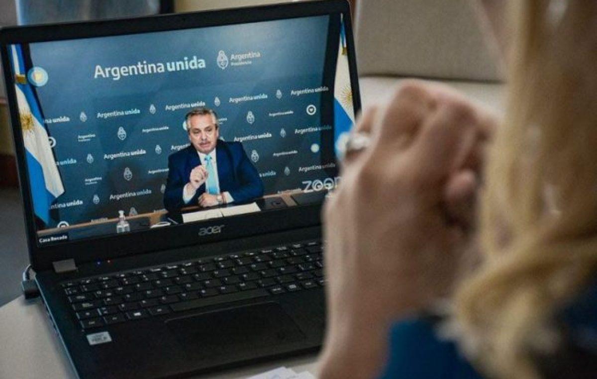 Ushuaia participó en el encuentro del Movimiento Arraigo