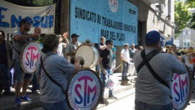 Municipales de Mar del Plata endurecen el reclamo y comienza la retención de tareas por 48 horas