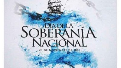 Hoy se recuerda el Día de la Soberanía Nacional