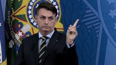 Bolsonaro llama a Biden «candidato» y amenaza con defender «con pólvora» la injerencia en la Amazonía
