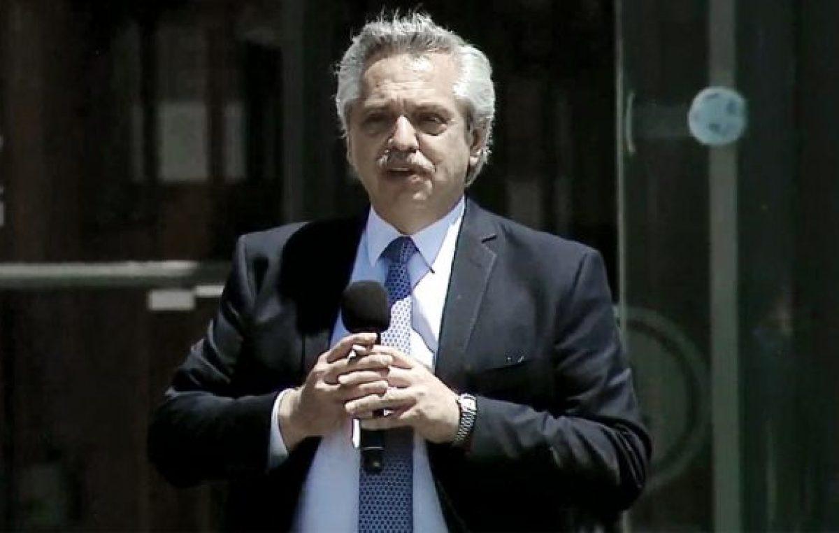 Alberto Fernández: «Quiero cambiar la estructura económica de la Argentina»