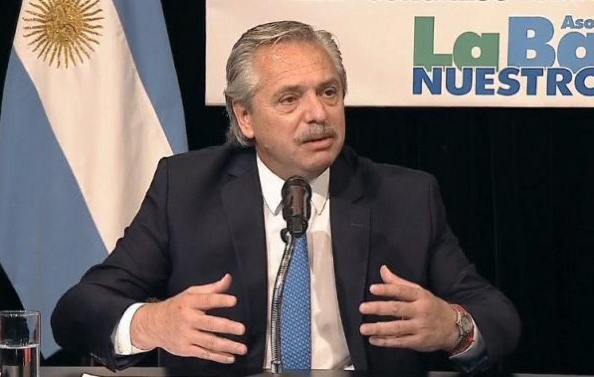 Alberto Fernández: «Nuestra primera obligación es con los más postergados»