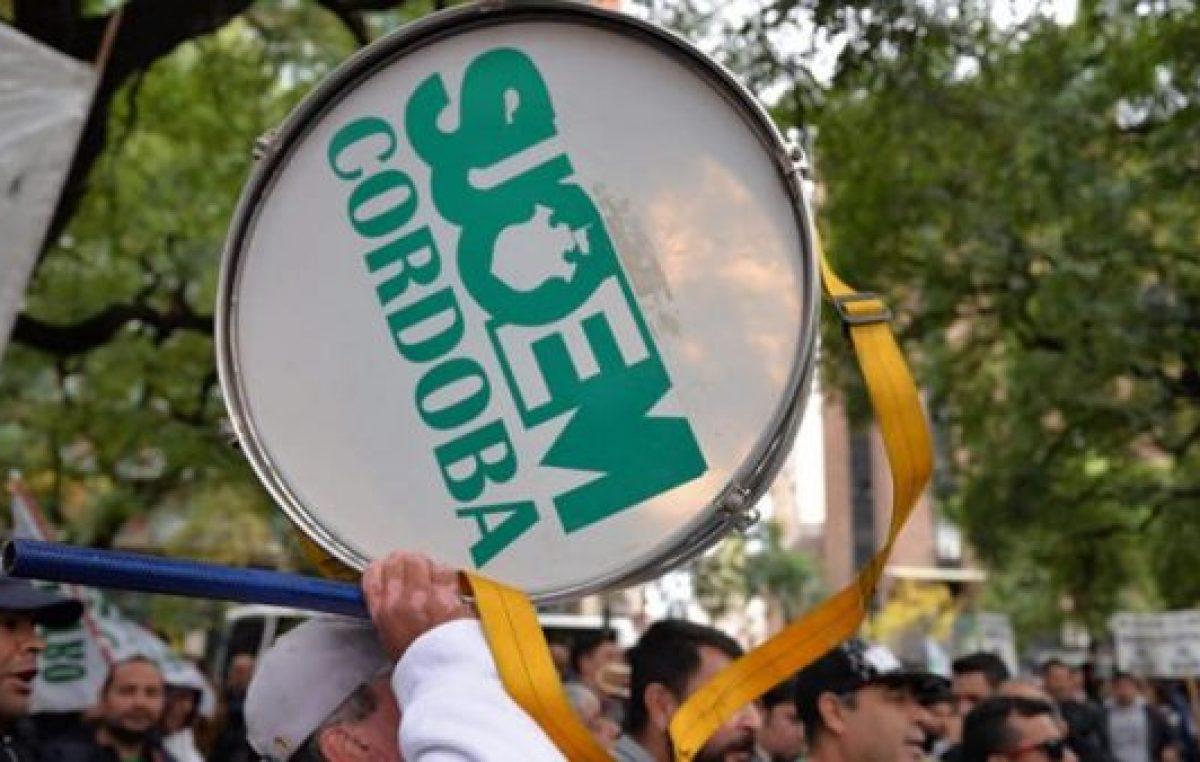 Córdoba: El Suoem realizará protestas sorpresivas